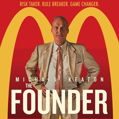 "Lessons from The Founder aka ""that McDonald's movie"""