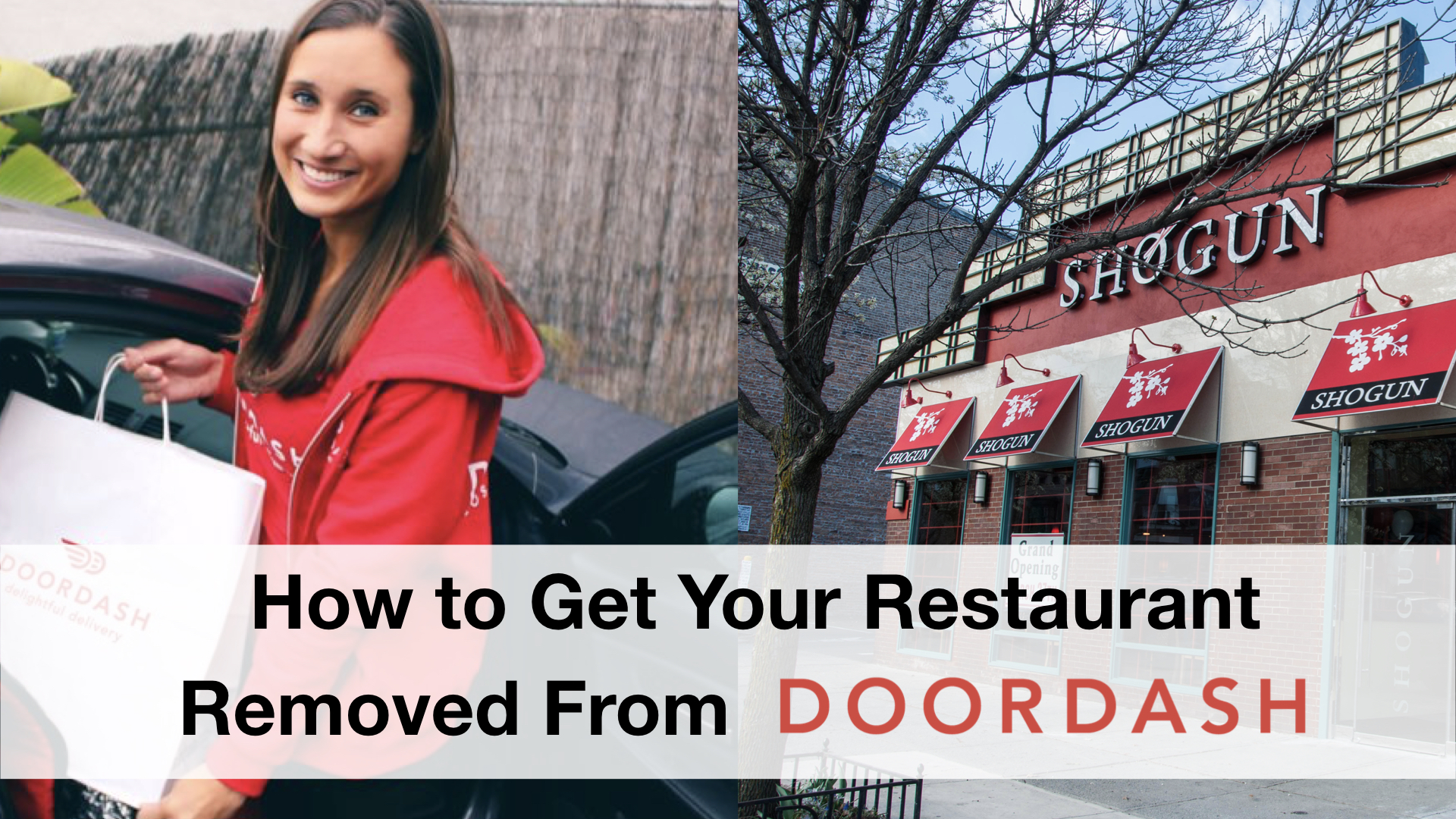 How to Get Your Restaurant Removed From DoorDash